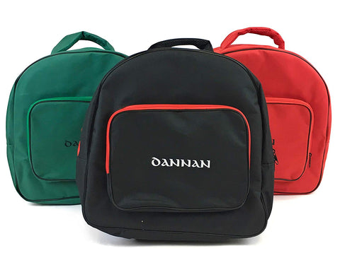 "Deluxe Dannan Padded Bodhran Case Bag with Shoulder Straps and Storage Pocket 16"" (3 Colours) - 1to1 Music"