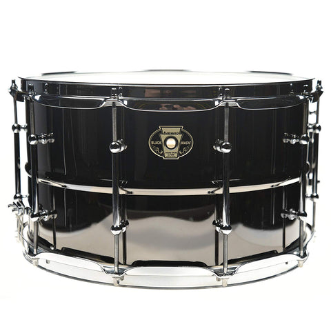 "Ludwig Black Magic Snare LW0814C, 14""x8"" Chrome - 1to1 Music"