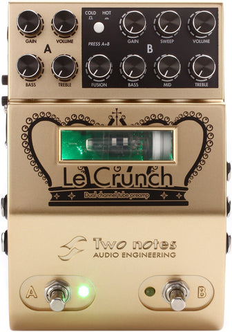 Two Notes Le Crunch - 2-channel Tube Preamp - 1to1 Music
