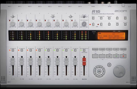 THE ZOOM R16 - Recorder : Interface : Controller - 1to1 Music