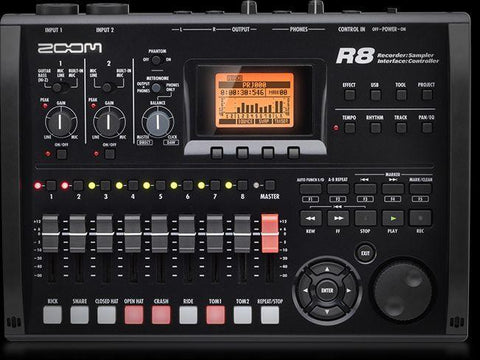 The Zoom R8 - Recorder : Interface : Controller : Sampler - 1to1 Music