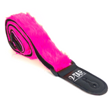 Colourful VTAR Vegan Faux Fur Guitar Straps Acoustic, Electric, Bass (UK Made) - 1to1 Music