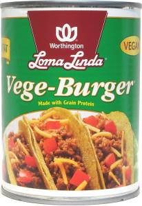 Vege-Burger (case of 12)-19 oz