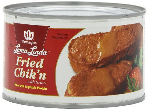 Fried Chicken w/Gravy (case of 12)-13 oz