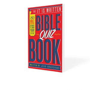 It Is Written Bible Quiz Book