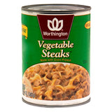 Vegetable Steaks (case of 12)-20 oz
