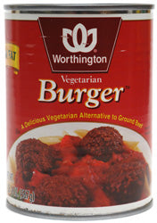 Vegetarian Burger (case of 12)-20 oz