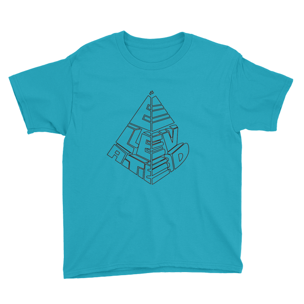 Tower Tee for Kids - Caribbean Blue