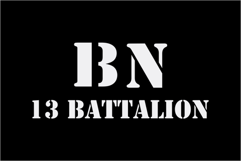 13 Battalion Morale Patches