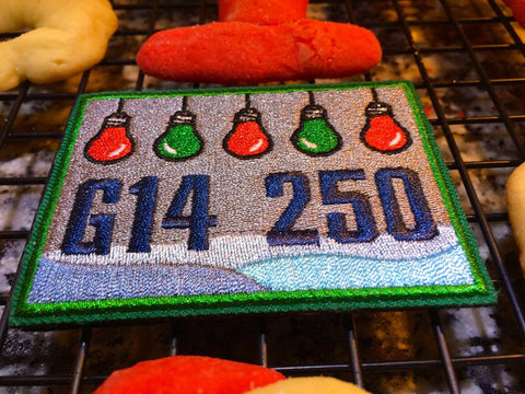G14 250 Holiday Patch