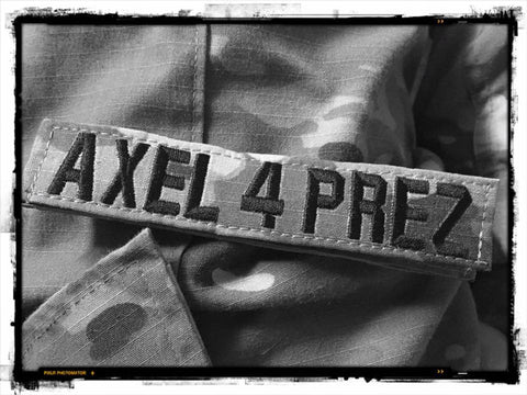 G14 250 Axel 4 Prez Nametapes