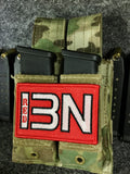 13Battalion Logo RED Patch