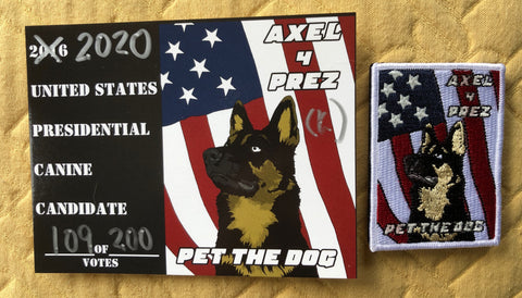G14 250  Axel 4 Prez 2020 Patch
