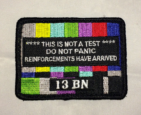 13Battalion EBS Patch