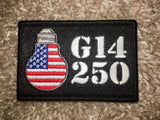 G14 250 FLAGBULB Patch