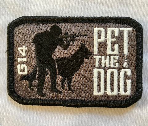 G14 250 Pet the Dog #2 Patch