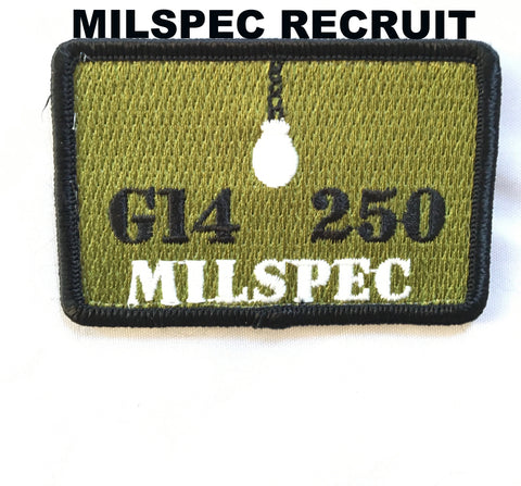 G14 250 MILSPEC Recruit/Veterans Patches
