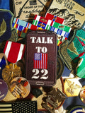 "13Battalion ""Talk to 22"" Morale Patch (PTSD)"