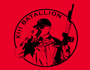 13Battalion RED Friday T-Shirt