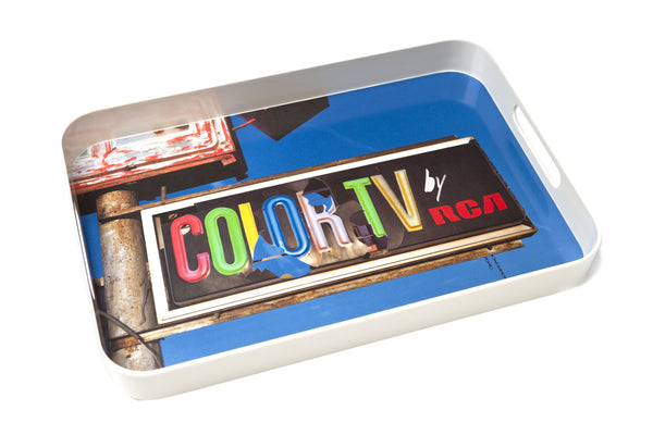 Color TV Tray