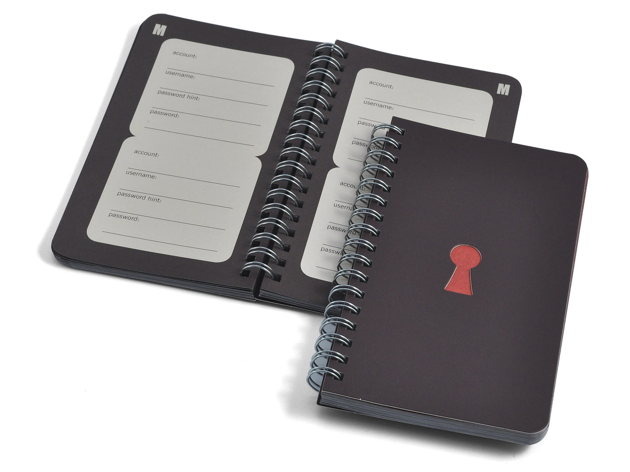 Open Sesame Keyhole Password Reminder Book