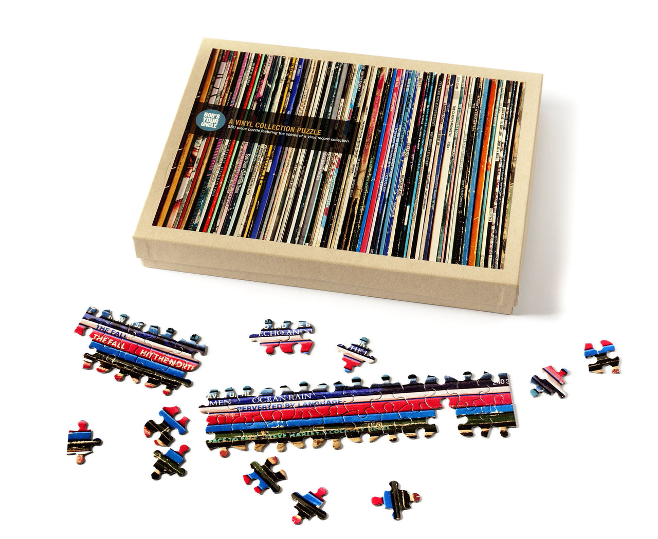 Vinyl Collection Puzzle