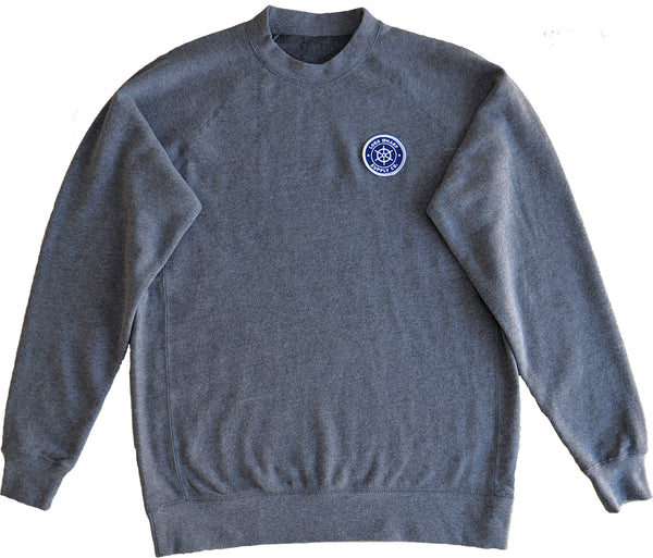 Grey Fleece Crew