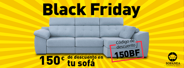sofás black friday