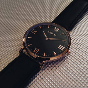 Magna Black and Rose Gold