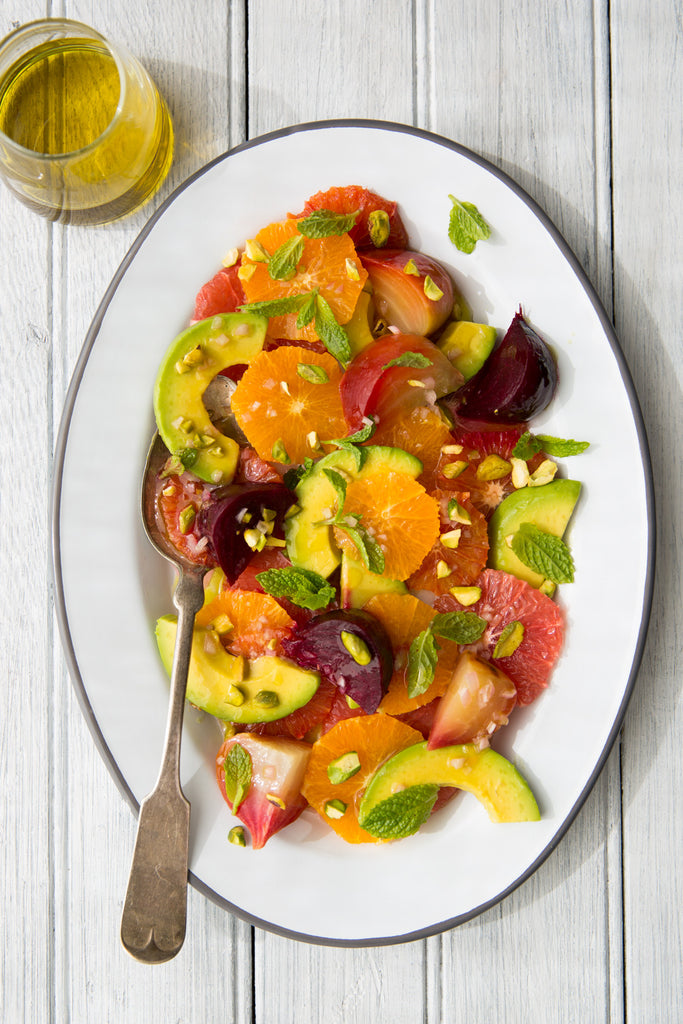 Bright Winter Salad of Mixed Citrus and Avocado