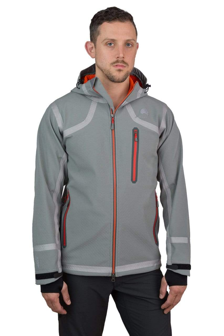 Water Repellent Windproof Breathable HQ Mens Soft Shell Jacket
