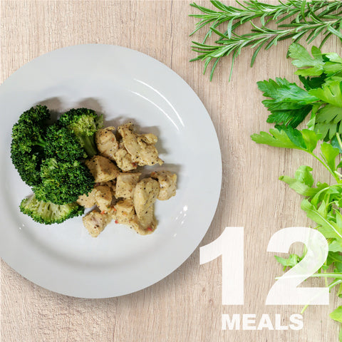 12 Meals Per Week With Protein & Vegetables | 6 day Plan |