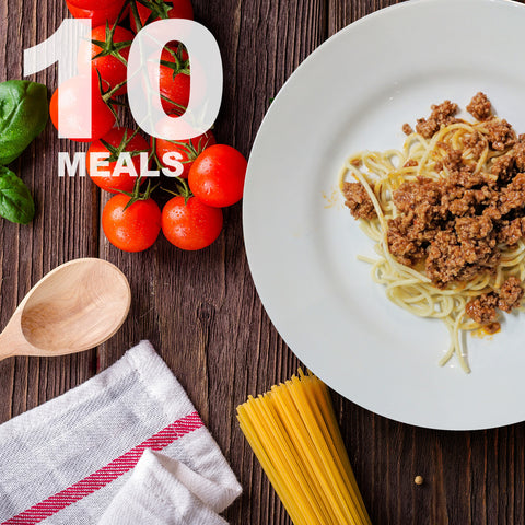 10 Meals Per Week With Protein & Carbs | 5 day Plan |