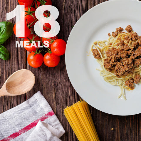 18 Meals Per Week With Protein & Carbs | 6 day Plan |