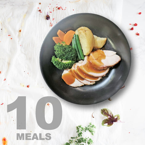 10 Meals Per Week With Protein, Carbs And Vegetables | 5 day Plan |