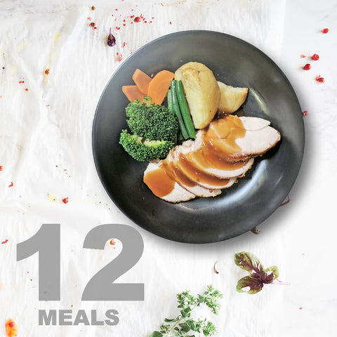 12 Meals Per Week With Protein, Carbs And Vegetables | 6 day Plan |