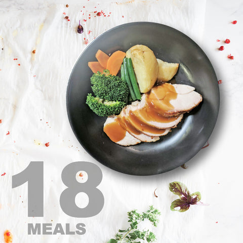 18 Meals Per Week With Protein, Carbs and Vegetables | 6 day Plan |