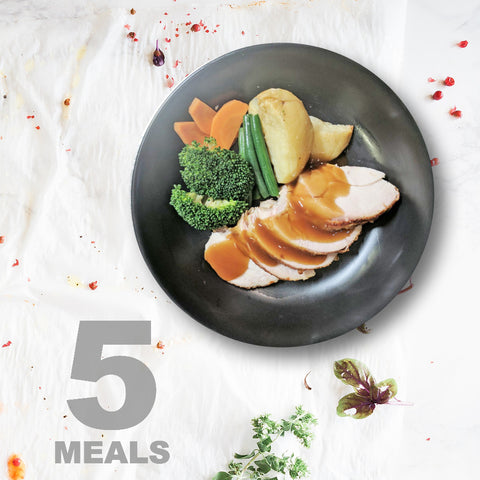 5 Meals Per Week With Protein Carbs & Vegetables  | 5 day Plan |