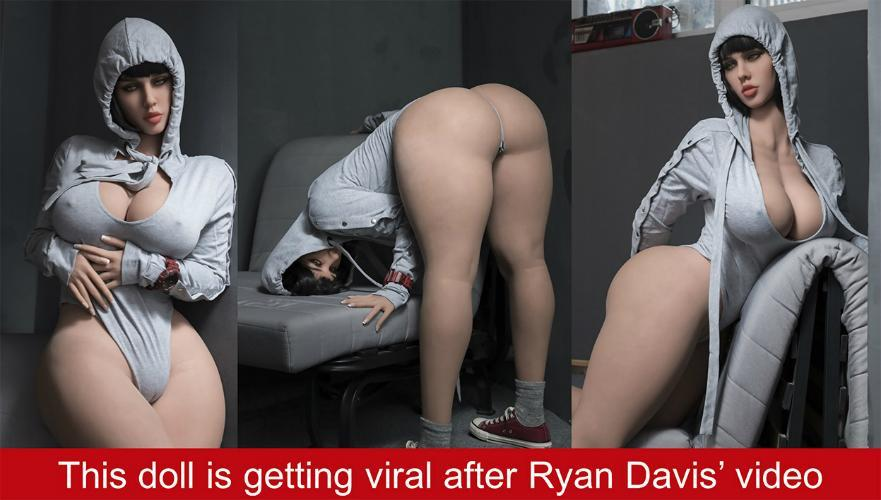 Sex Doll of 2018! Our doll Jasmine (Shakira) featured at Ryan Davis' Show