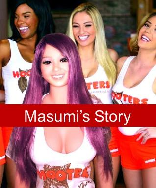 When dolls come alive on Instagram - Masumi