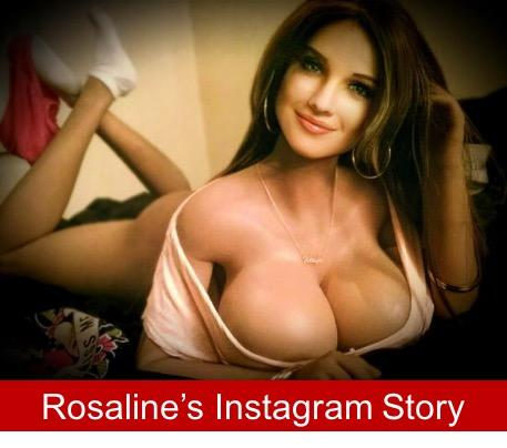 When dolls come alive on Instagram - Rosaline