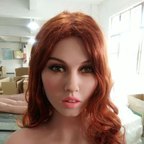 sexy redhead real sex doll
