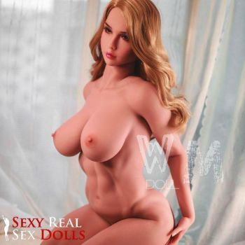 blonde big tits sex doll