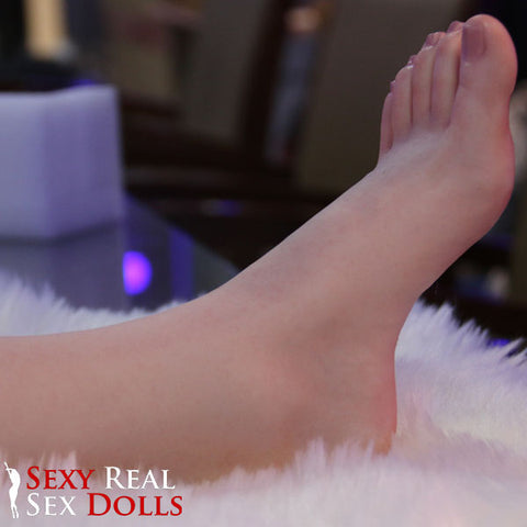 silicone sex doll foot