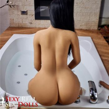 latina take bath sex doll