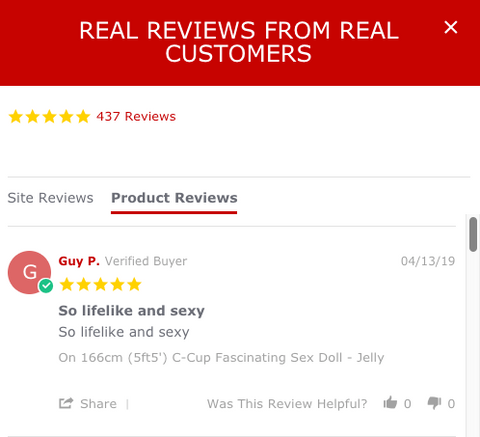 buy sex doll with verified buyer reviews