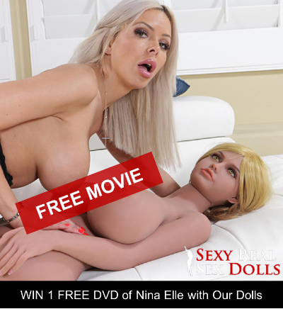 porn movie of nina elle with sex doll
