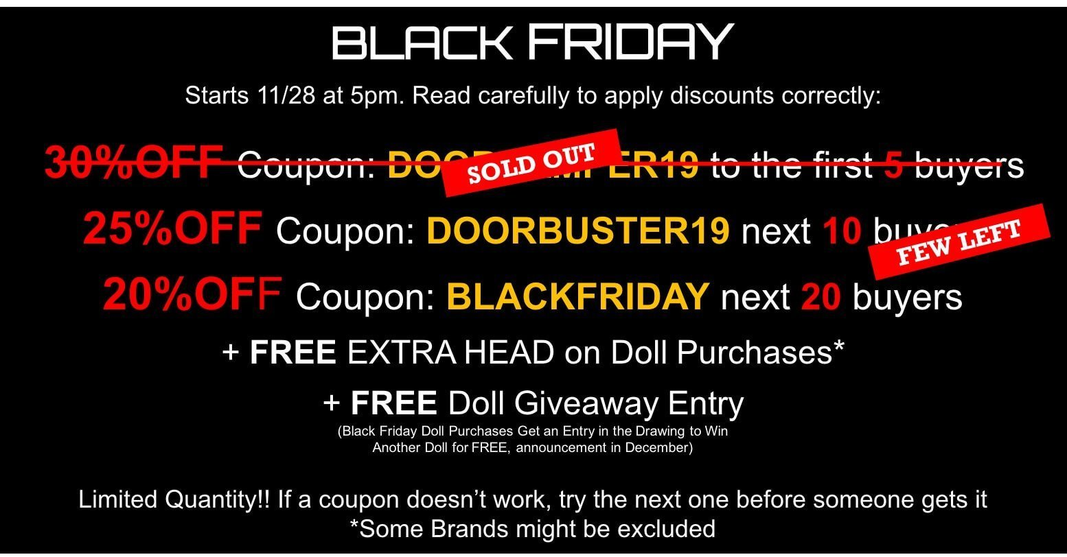 black friday deals sex dolls 2018