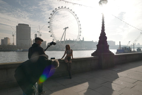 Bluebella Lingerie - Behind the scenes - London Eye