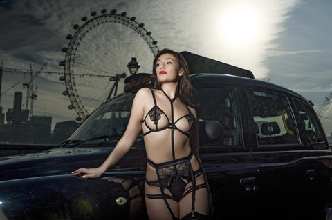 Bluebella London Eye - Emerson Set Lingerie